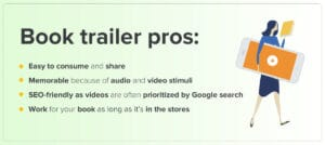 Top advantages of a book video trailer