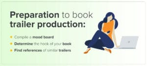 Tip on how to create successful book trailer