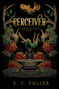 Example of YA fantasy book cover design that go against the trends